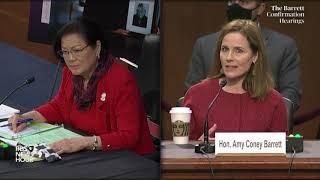 WATCH: Sen. Mazie Hirono questions Supreme Court nominee Amy Coney Barrett
