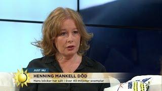 """Om Henning Mankell: """"En stor författare har gått ur tiden"""" - Nyhetsmorgon (TV4)"""