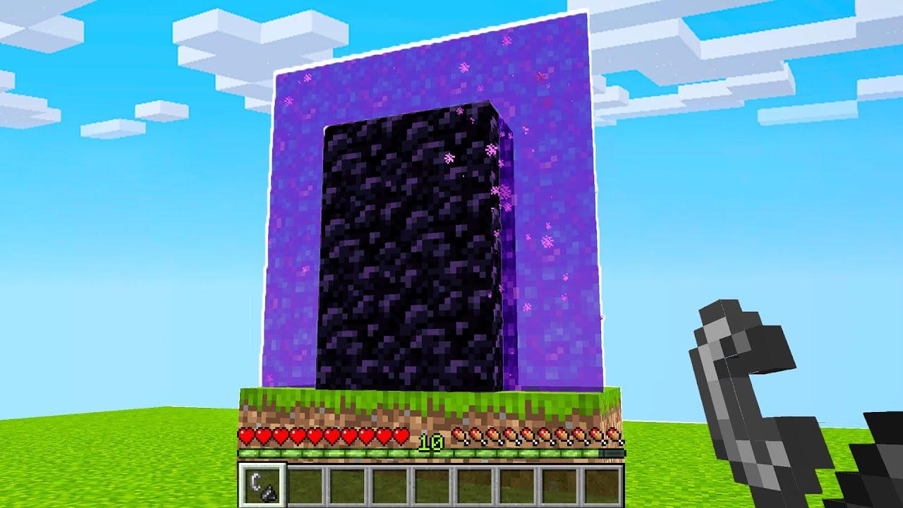 Minecraft nether ve end portal nasıl yapılır?