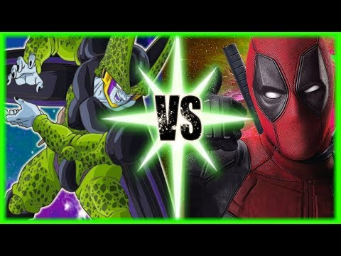 Perfect Cell X Deadpool: Villains Anonymous
