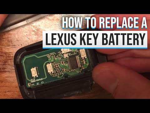 How To Replace Your Lexus Smart Key Battery Youtube