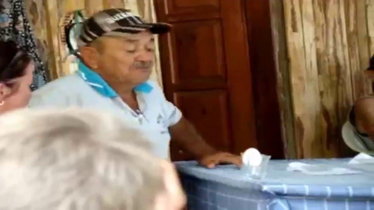 Turkish man screaming meow at an egg