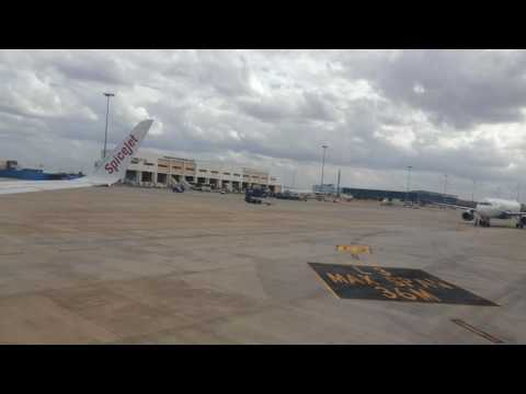 Goa to Bangalore - Spicejet - 05 July 2014 - Airport Parking