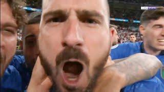 شاهد بونوتشي يسخر من منتخب انجلترا بعد فوز ايطاليا باليورو