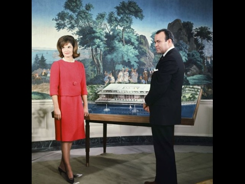 Jacqueline Kennedy  White House Tour - Documentary CBS