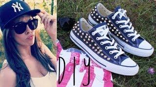 DIY: Nieten Converse (Chucks) selber machen / Studded Converse Chuck Taylors