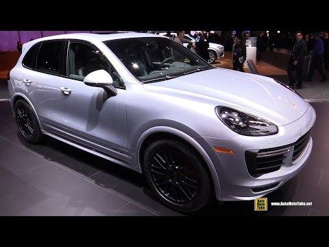 2016 Porsche Cayenne GTS - Exterior and Interior Walkaround - 2016 Detroit Auto Show