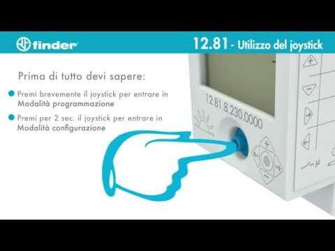Interruttore orario Astro Finder tipo 12.81 | Funzioni | Finder