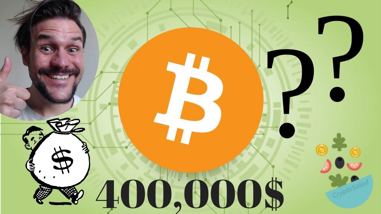 ja es ieguldīšu 400 bitcoin, cik es nopelnīšu, ja bitcoin palielināsies