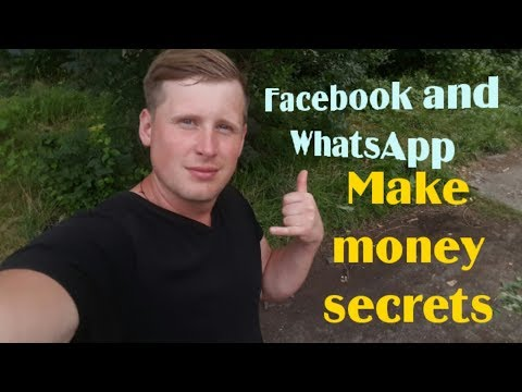 Facebook And WhatsApp Make Money Online