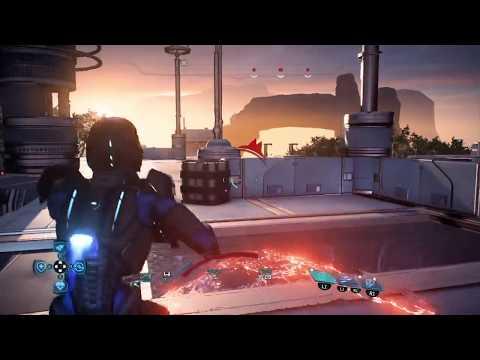 Mass Effect Andromeda Multiplayer Human Commando Platinum Solo