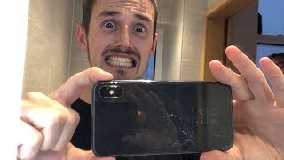 I SMASHED MY iPHONE X!!!