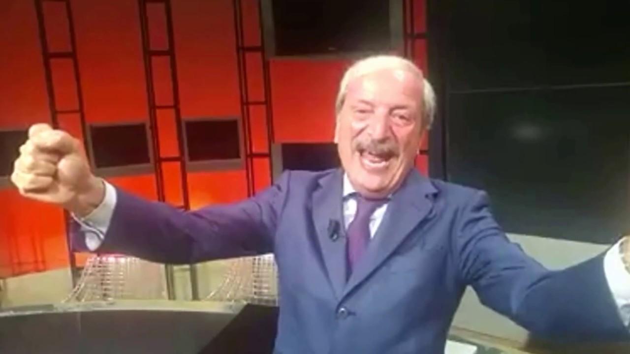 Tiziano Crudeli discorso Europa League dopo la partita ...