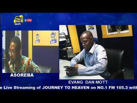 EVG. DAN MOTT PREACHING AT NO.1 FM RADIO IN ACCRA
