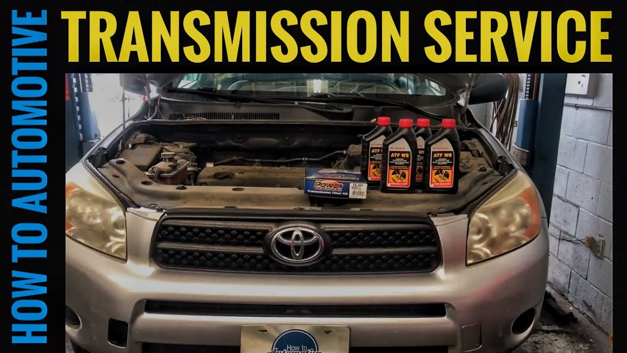 How to Change the Transmission Fluid and Filter on a 2005-2012 ...
