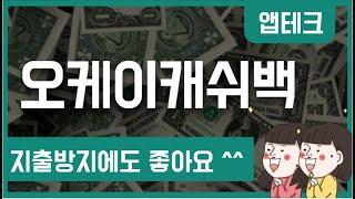 앱테크필수앱 오케이캐쉬백 사용법