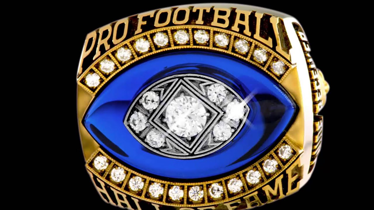 Football Hall Of Fame Ring