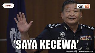 'Tak Guna Menyesal' - IGP Kecewa Pegawai Terlibat Sindiket Jenayah