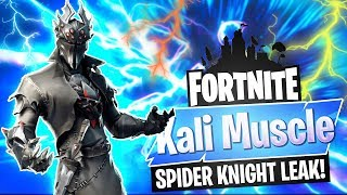 *NEW* SPIDER KNIGHT Skin!! | Fortnite Battle Royale Gameplay - Kali Muscle