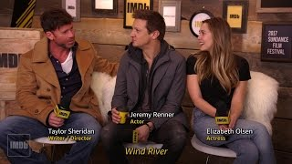 Meet The Stars Of 'Wind River' | IMDb EXCLUSIVE