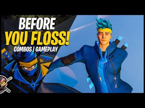 NINJA In Fortnite! Combos/Gameplay | Before You Buy NINJA (Fortnite Battle Royale)