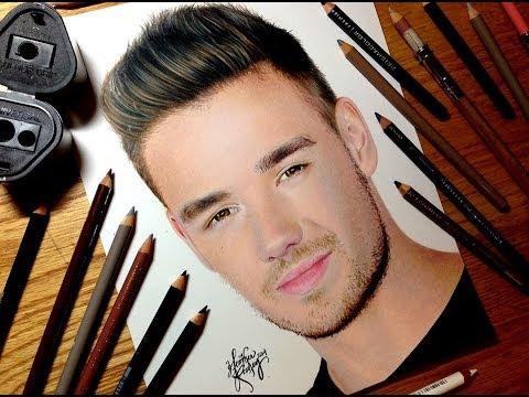 Drawing Liam Payne