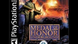 "Medal of Honor Underground Detonado Walkthrough #1 [PS1 - GBA] "" Começando "" 【Full HD】"