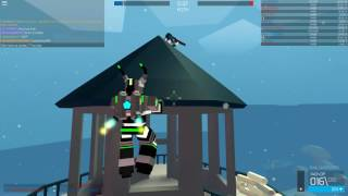 Roblox Polyguns Rail-Overlord and Tack-Dp Gameplay