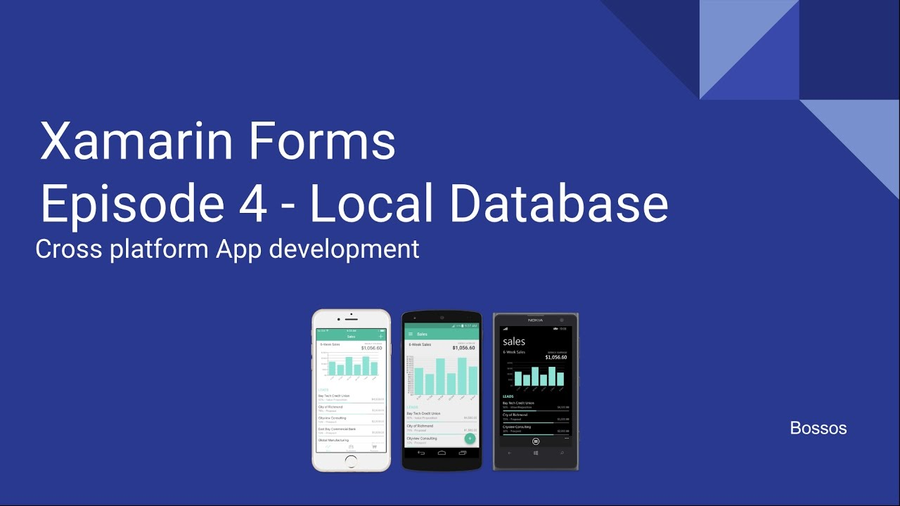 Build cross-platform android and ios uis with xamarin forms.