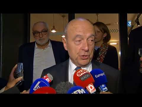 Intégralité de l'interview d'Alain Juppé sur la fronde anti-parisiens à Bordeaux