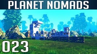 PLANET NOMADS [023] [Ein neues Jetpack craften] [S01] Let's Play Gameplay Deutsch German thumbnail