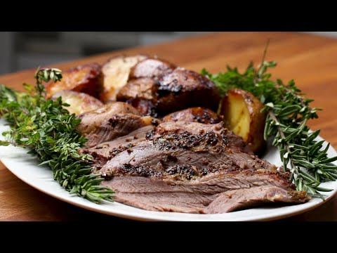 Garlic And Herb Leg Of Lamb