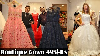Latest Boutique Gown in Cheapest price | Designer gown at 495/-Rs | VANSHMJ |
