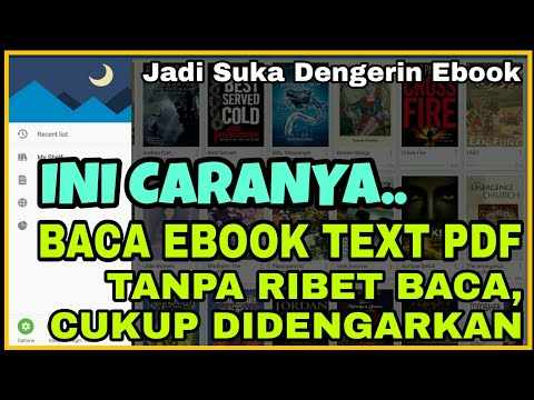 Cara Baca Buku Ebook Text Dan PDF Menjadi Suara