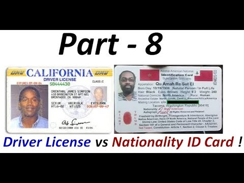 Driver License Fraud: Indigenous Americans 'Not' required to have Colonial Driver Licenses (Pt. 8) !