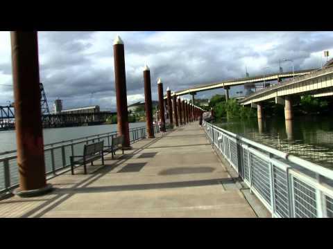 Canon VIXIA HF G20 Film Test. Scenes of Portland Oregon.