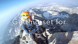 Climbing Grand Teton Upper Exum route, HD