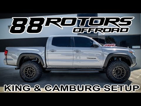 2019 Toyota Tacoma Ditching Spacer Leveling Kit for King Coilovers