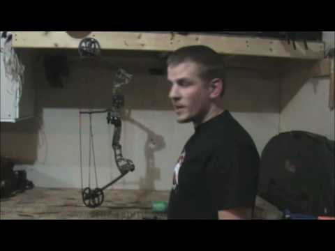 Installing A Bowfishing Reel On A Compound Bow