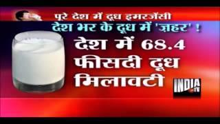 CNN IBN & India TV News on FSSAI Milk Adulteration Study