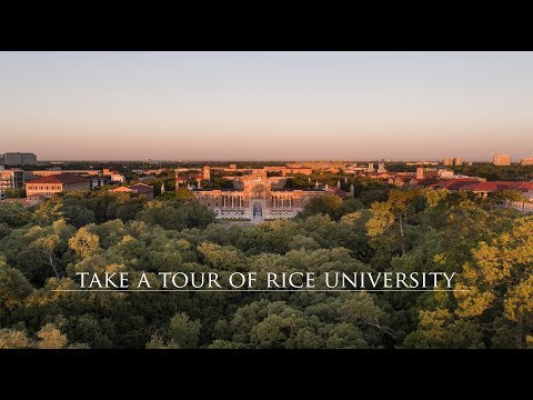 Take a tour of Rice University