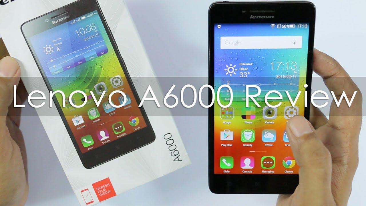 Lenovo A6000: reviews and reviews
