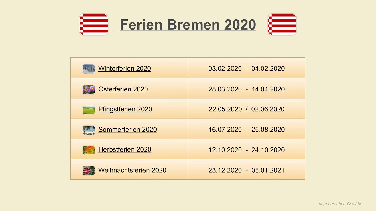 Termine Bremen