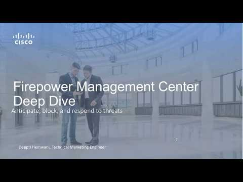 Firepower Management Center Overview