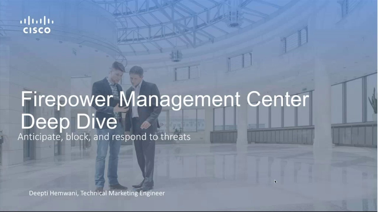 Firepower Management Center Overview