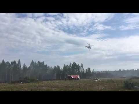 МЧС: авиаразведка в Кировском районе Ленобласти