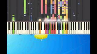 Anything is possible   Young Will [Piano tutorial by Synthesia]