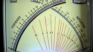 RCI 2950 DX mesure de puissance SSB+AM aprés modif RCC