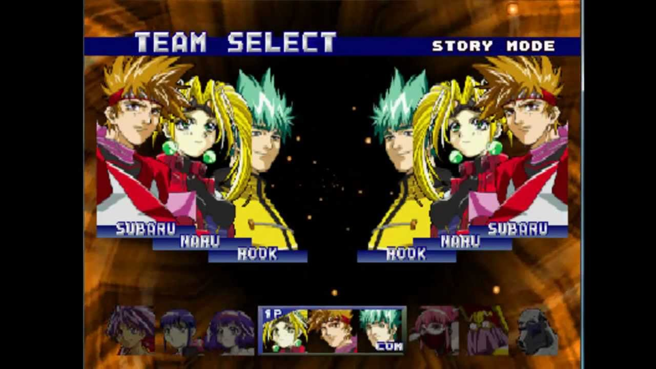 Battle Arena Toshinden 4 Character Selection Music Youtube