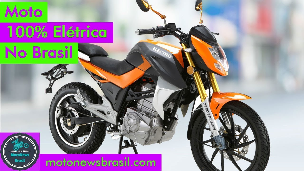 Moto 100% Elétrica no Brasil - YouTube